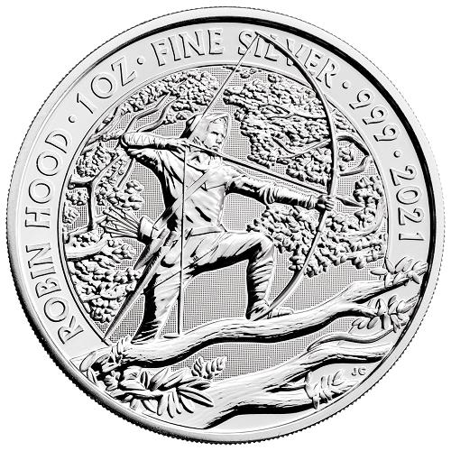 Myths and Legends Silber 1 oz 2021