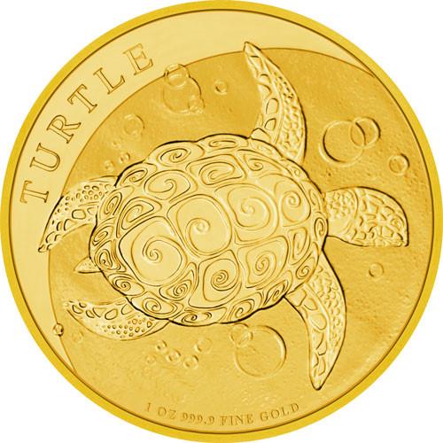 Niue - Schildkröte Gold 1 oz 2021