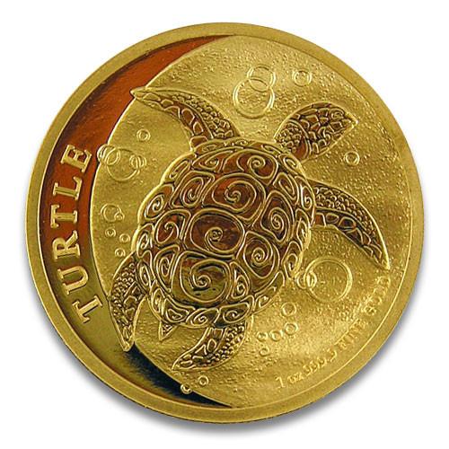 Niue - Schildkröte Gold 1 oz 2018
