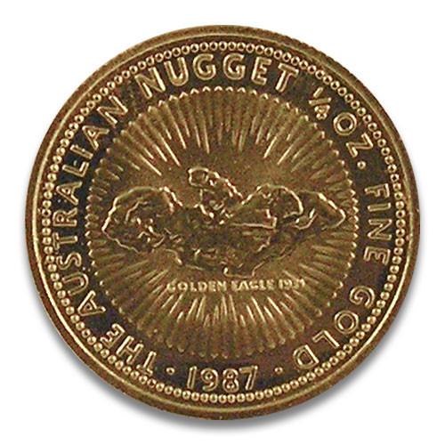 Nugget Australien 1987 Gold 1/4 oz