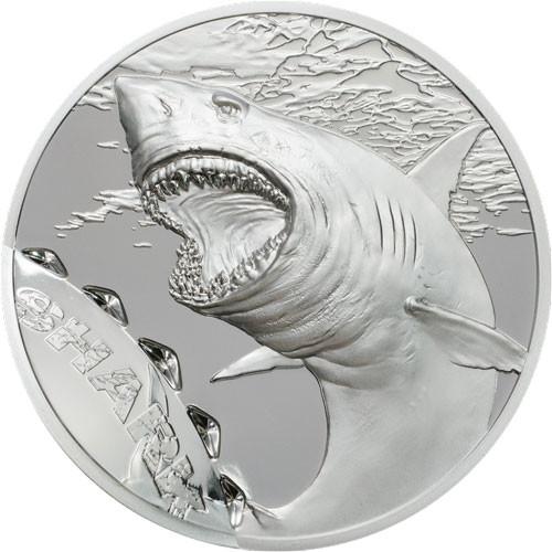 Palau - Shark Silber 1 oz 2017 Proof