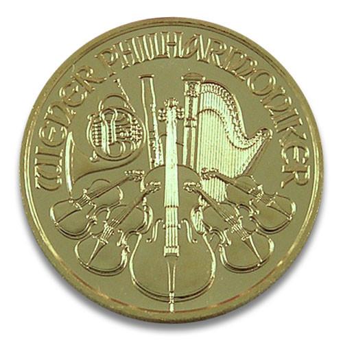 Wiener Philharmoniker Gold 1/10 oz 2020