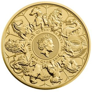 Queens Beast Completer Coin Gold 1 oz 2021