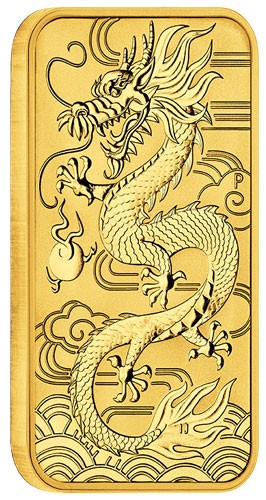 Dragon Rectangular Australien 2018 Gold 1 oz
