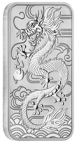 Dragon Rectangular Australien 2018 Silber 1 oz