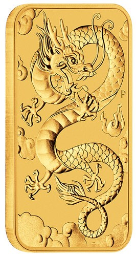 Dragon Rectangular Australien 2019 Gold 1 oz