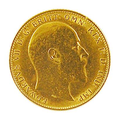 Sovereign 1 Pfund Eduard VII