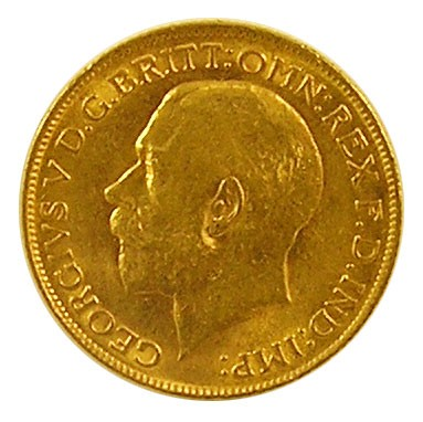 Sovereign 1 Pfund George V