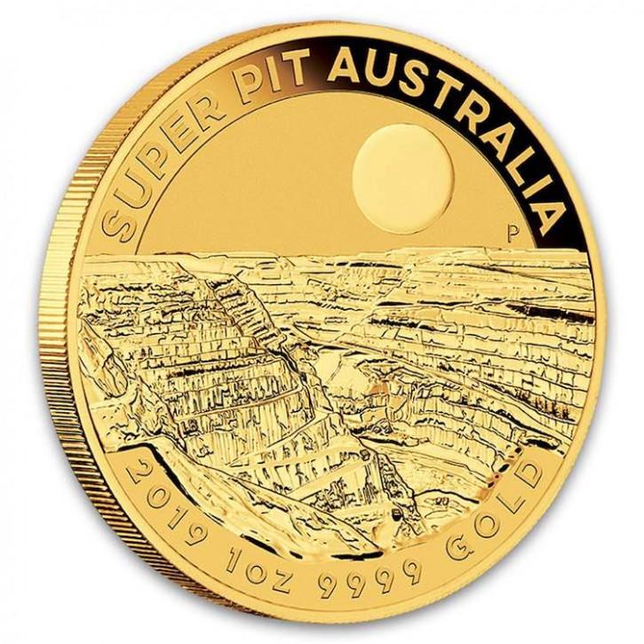 Super Pit Australien 2019 Gold 1 oz