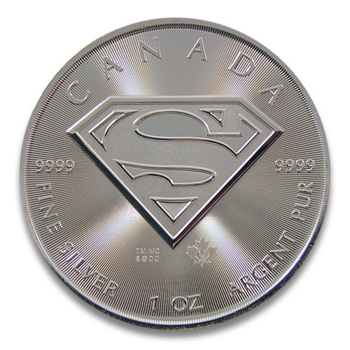 Superman RCM Silber 1 oz 2016