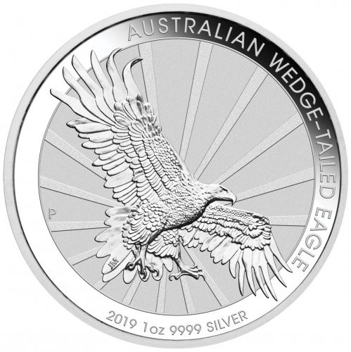 Wedge Tailed Eagle Silber 1 oz 2019