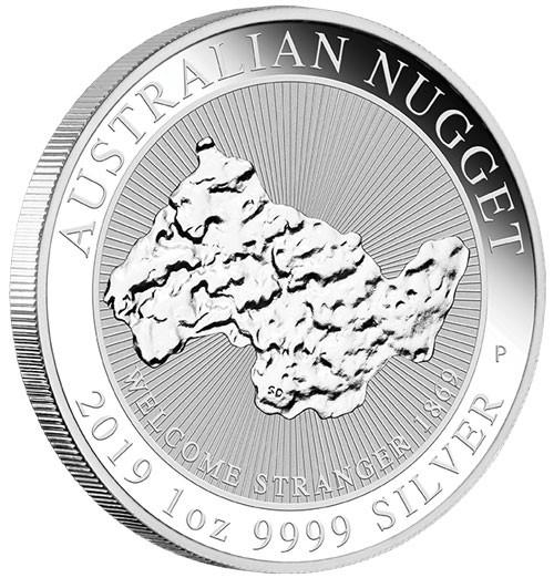 Nugget Australien 2019 Silber 1 oz