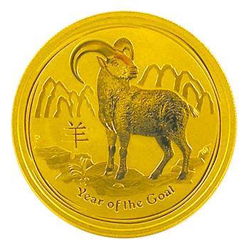 Lunar II Ziege 2015 Gold 1/20 oz