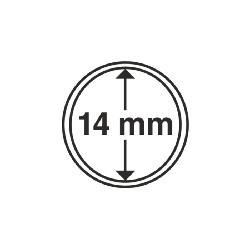 Münzkapsel Innendurchmesser 14 mm