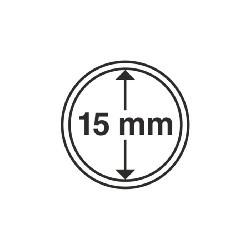 Münzkapsel Innendurchmesser 15 mm