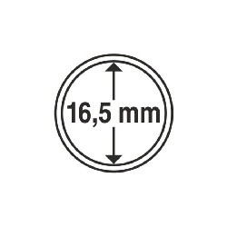 Münzkapsel Innendurchmesser 16,5 mm