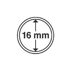 Münzkapsel Innendurchmesser 16 mm