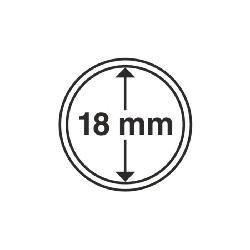 Münzkapsel Innendurchmesser 18 mm