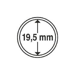 Münzkapsel Innendurchmesser 19,5 mm