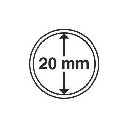 Münzkapsel Innendurchmesser 20 mm