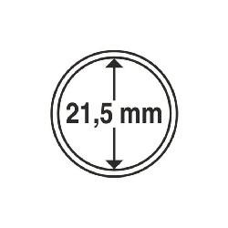 Münzkapsel Innendurchmesser 21,5 mm