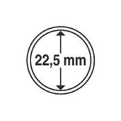 Münzkapsel Innendurchmesser 22,5 mm