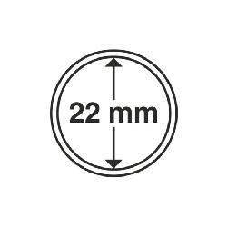 Münzkapsel Innendurchmesser 22 mm