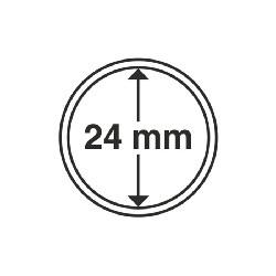Münzkapsel Innendurchmesser 24 mm