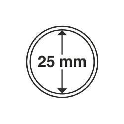 Münzkapsel Innendurchmesser 25 mm