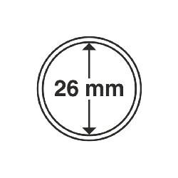 Münzkapsel Innendurchmesser 26 mm