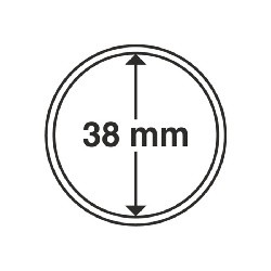 Münzkapsel Innendurchmesser 38 mm