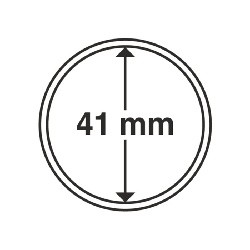 Münzkapsel Innendurchmesser 41 mm