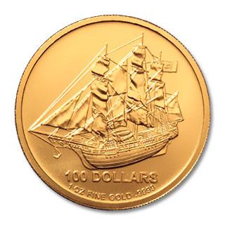 Cook Island Gold 1 oz verschiedene