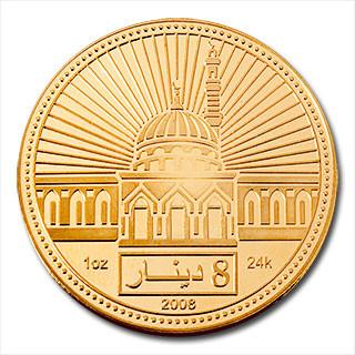 Gold Dinar 1 oz 2008