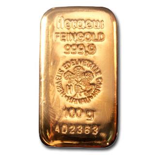 Goldbarren sonstige 100g
