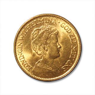Wilhelmina 10 Gulden