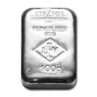 Silberbarren LEV 100 g