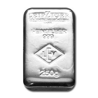 Silberbarren LEV 250 g