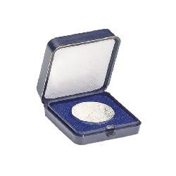 Münzetui blau für 1 Münze bis 30 mm