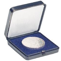 Münzetui blau für 1 Münze bis 45 mm
