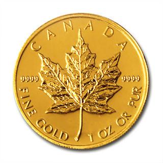 Maple Leaf Gold 1 oz verschiedene