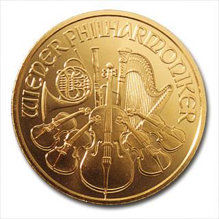 Wiener Philharmoniker Gold 1/2 oz 2020
